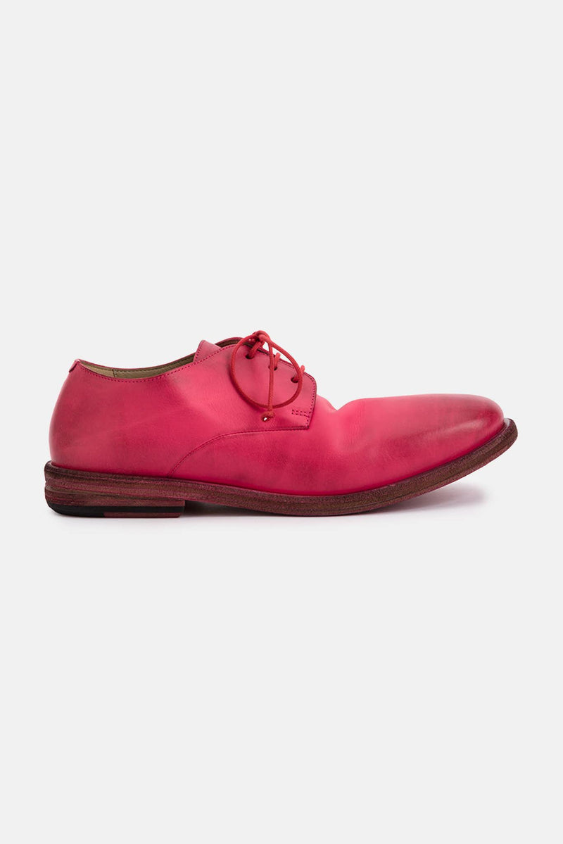 Derbies rose en cuir Marsèll