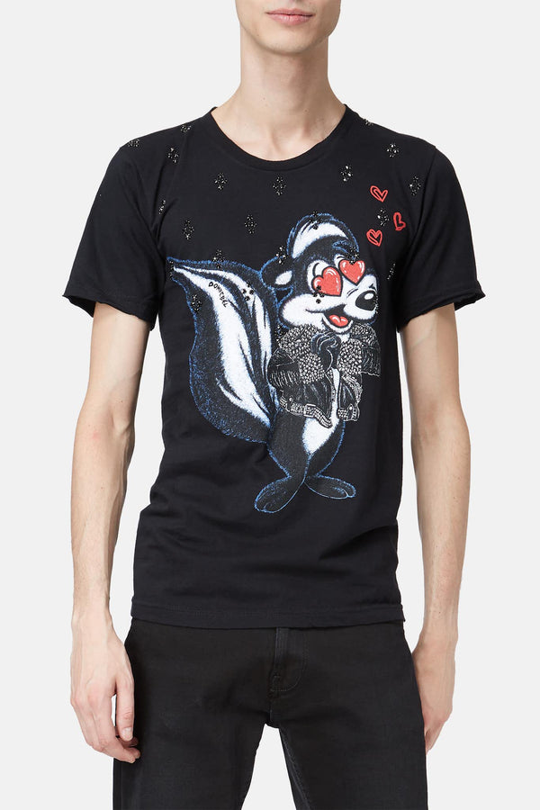 T-shirt imprimé Skunk Dom Rebel