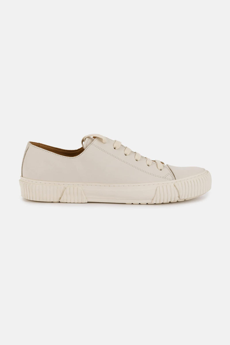 Baskets basses blanches Classic Both