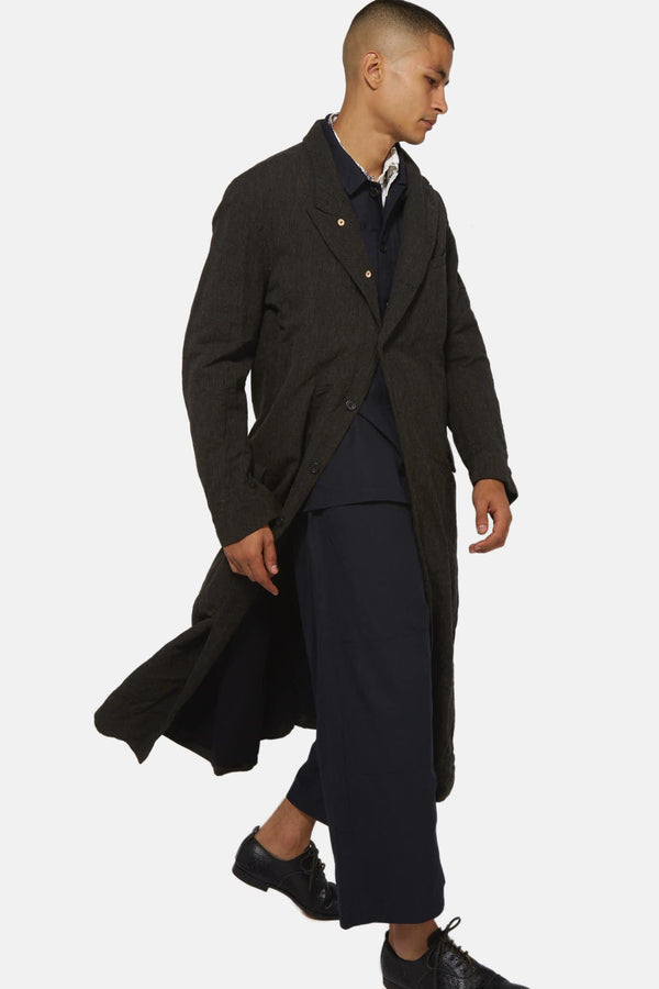 Manteau long cord Paul Harnden