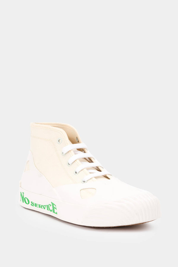 Baskets imprimées blanches Stella McCartney