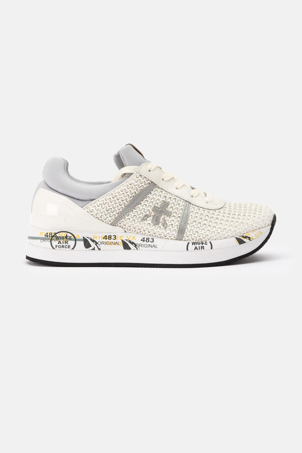 "Baskets basses blanches ""Liz"" Premiata"