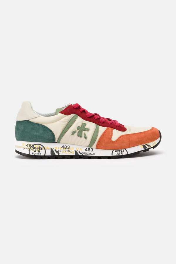 "Baskets basses multicolores ""Eric"" Premiata"
