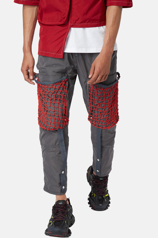 Pantalon de jogging à détails filet girs