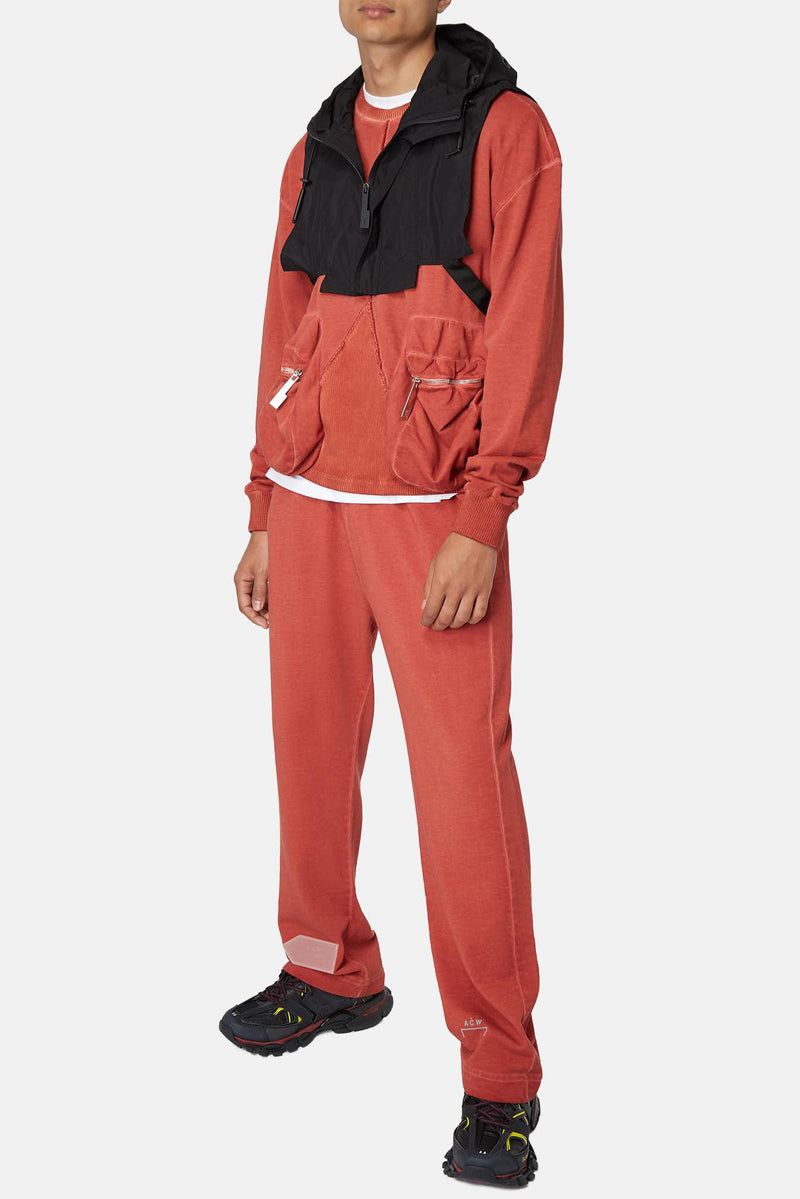 Pantalon de jogging en coton rouille A Cold Wall