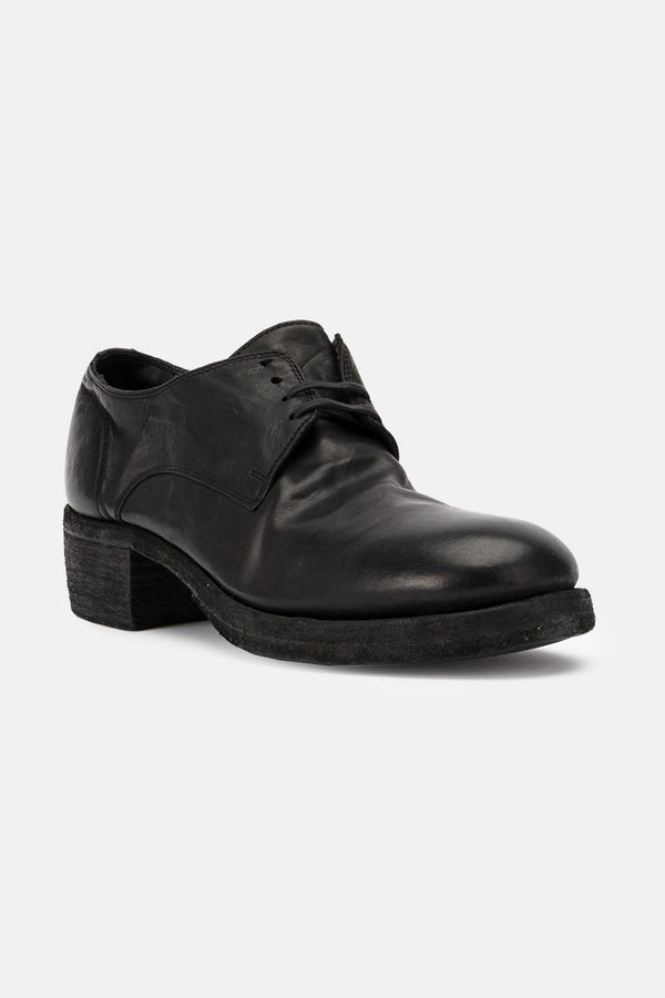 Oxford en cuir noires Guidi