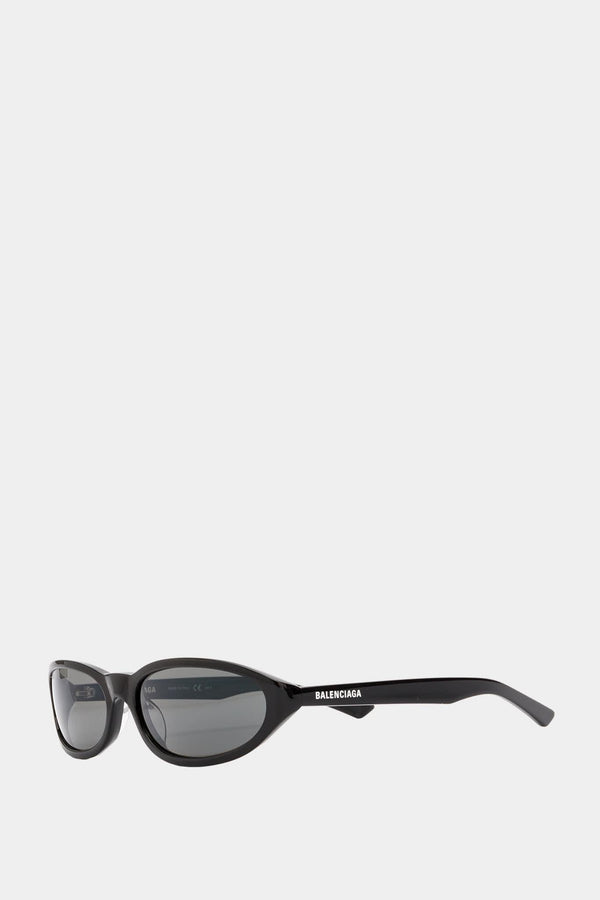Balenciaga Black acetate sunglasses