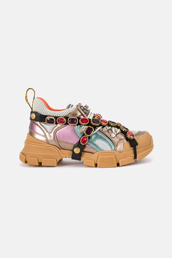 Baskets en cristaux Flashtrek Gucci