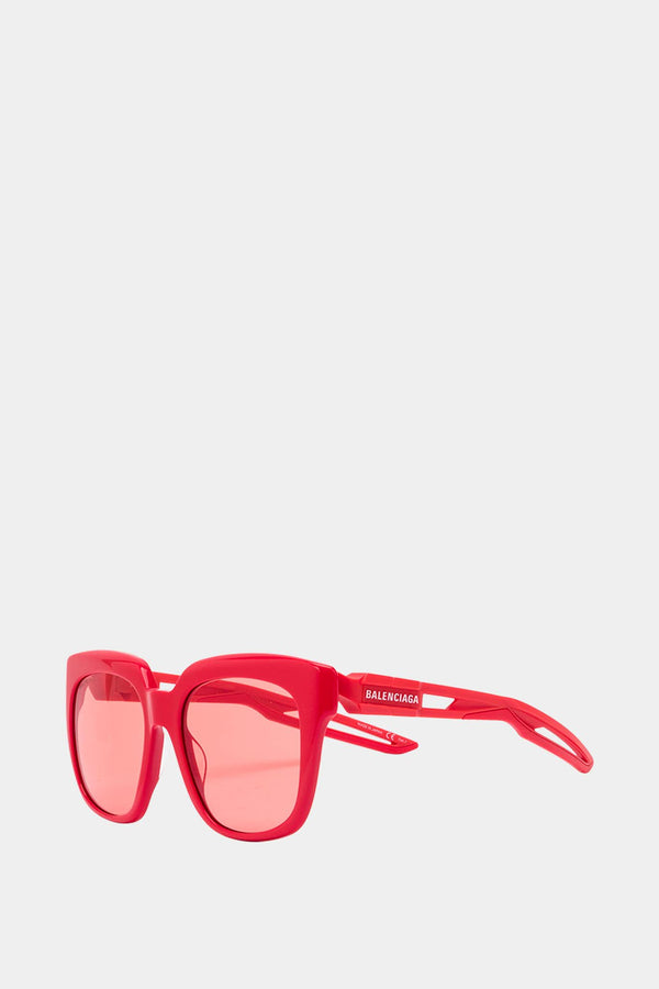 Balenciaga Red acetate sunglasses