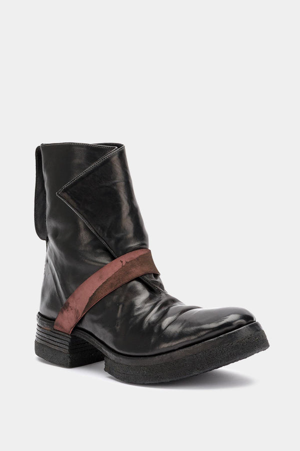 Carol Christian Poell Black Leather Boots