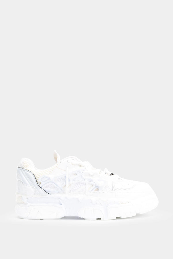 "Maison Margiela Baskets basses blanches ""Fusion"""