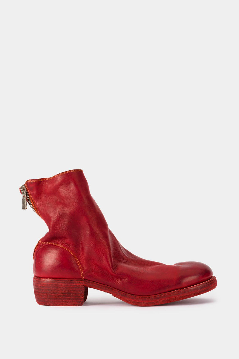 Guidi Red Leather Boots