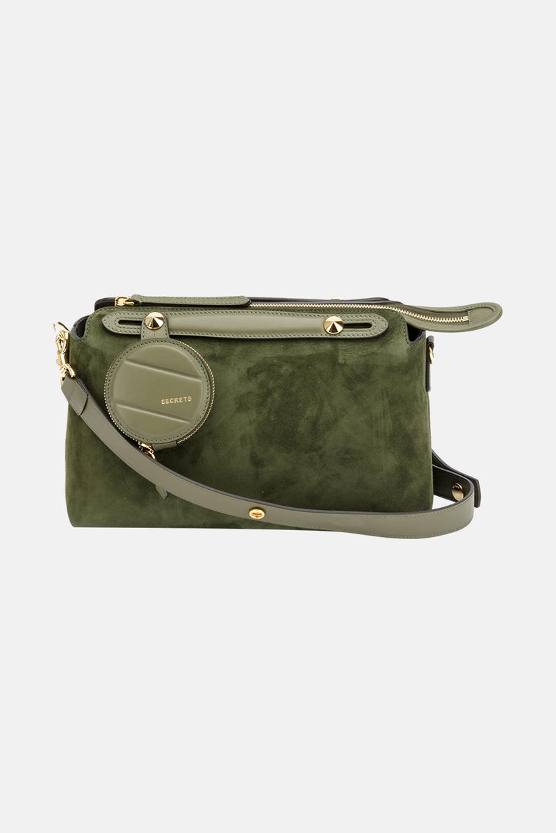 "Sac à main vert ""Boston"" Fendi"