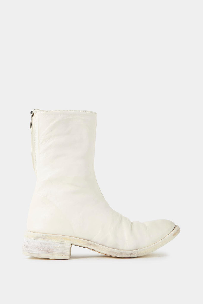 Carol Christian Poell White Horse Leather Boots