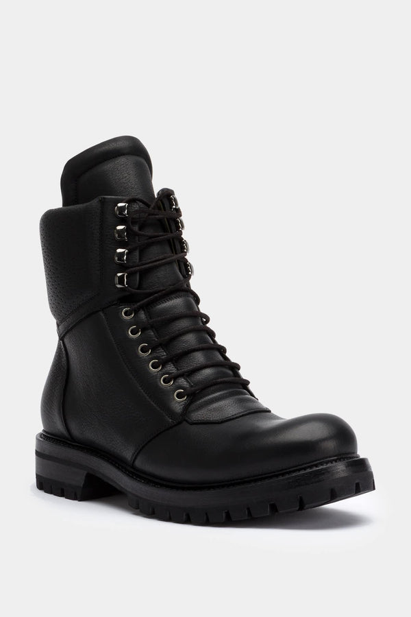 "Rick Owens High Black Leather ""Babel"""