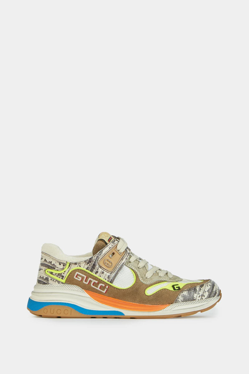 Baskets basses multicolores Gucci