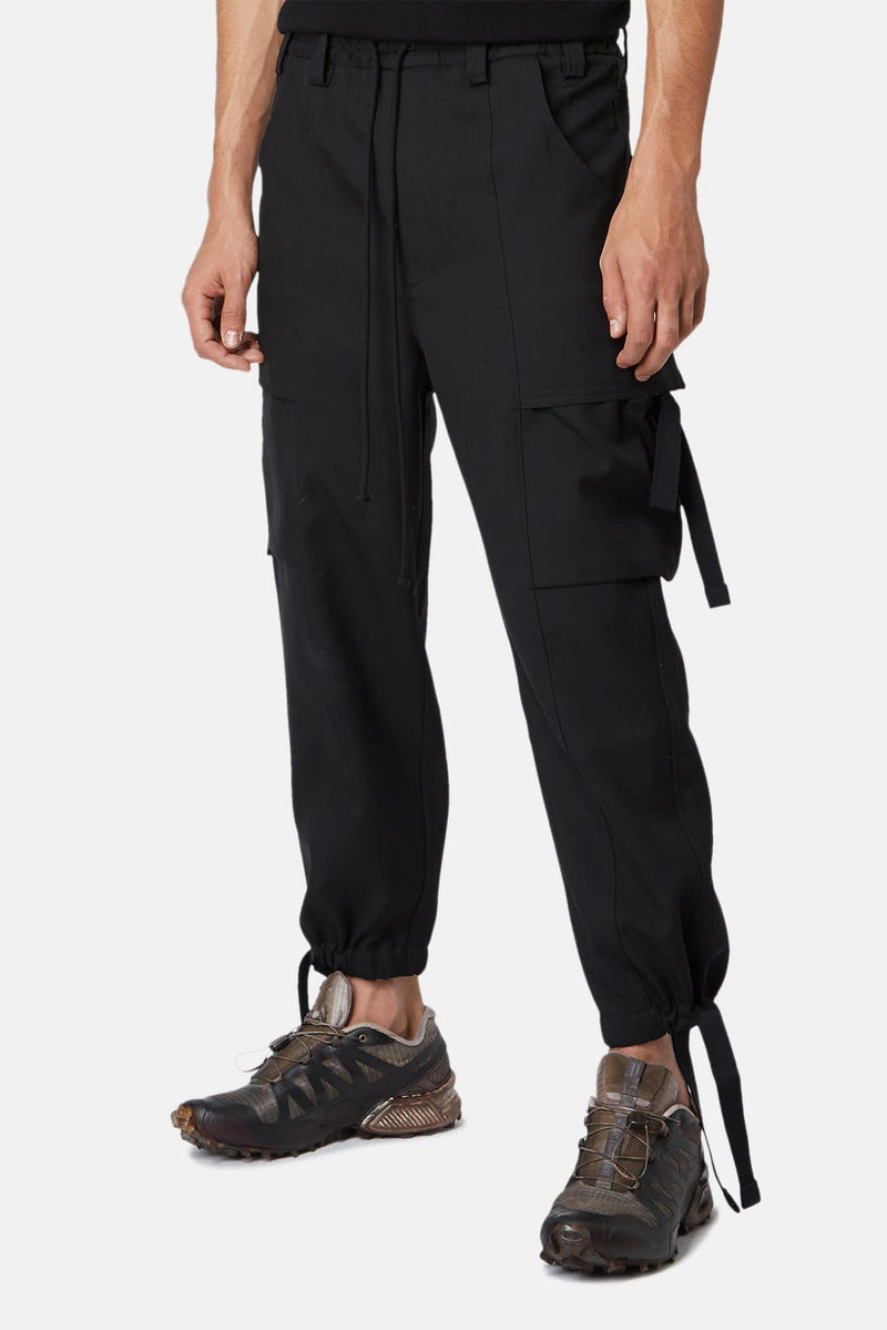 Pantalon en laine noir Song for the Mute