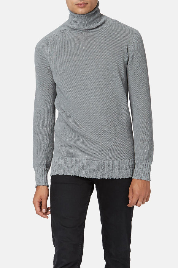 Pull en laine vierge gris Carol Christian Poell
