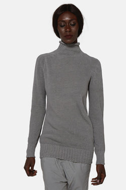 Pull en maille gris Carol Christian Poell