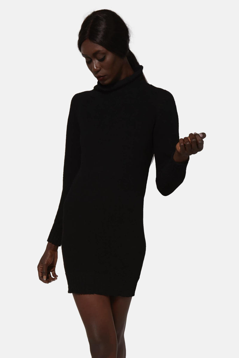 Pull en maille noire Carol Christian Poell