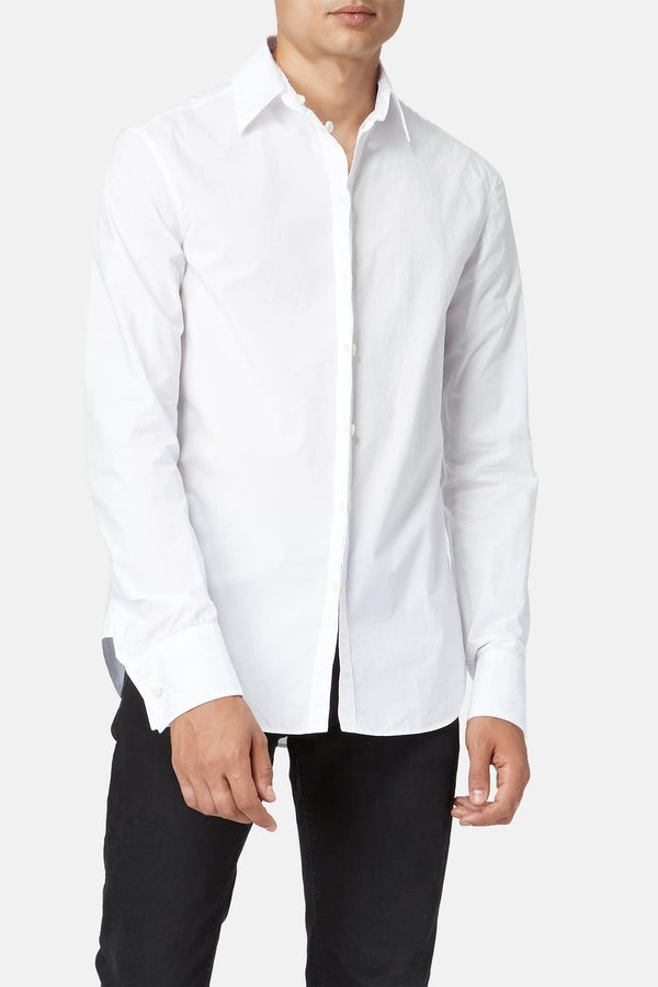 Chemise en coton blanche Carol Christian Poell