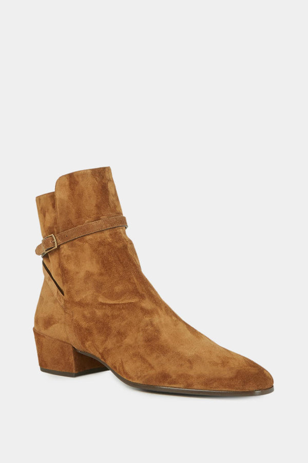 "Bottines marron ""Clémenti""  Saint Laurent"