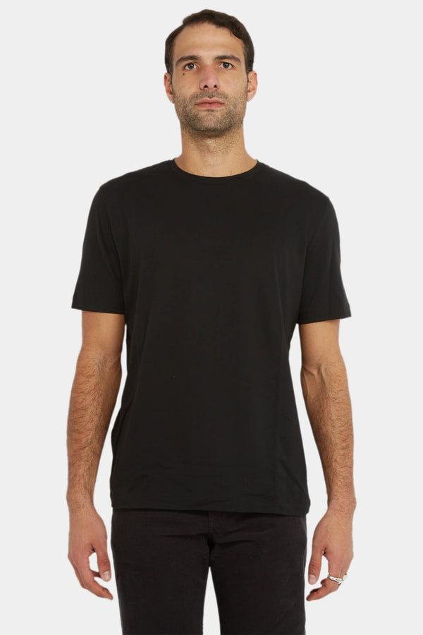 The Row T-shirt en coton noir The Row
