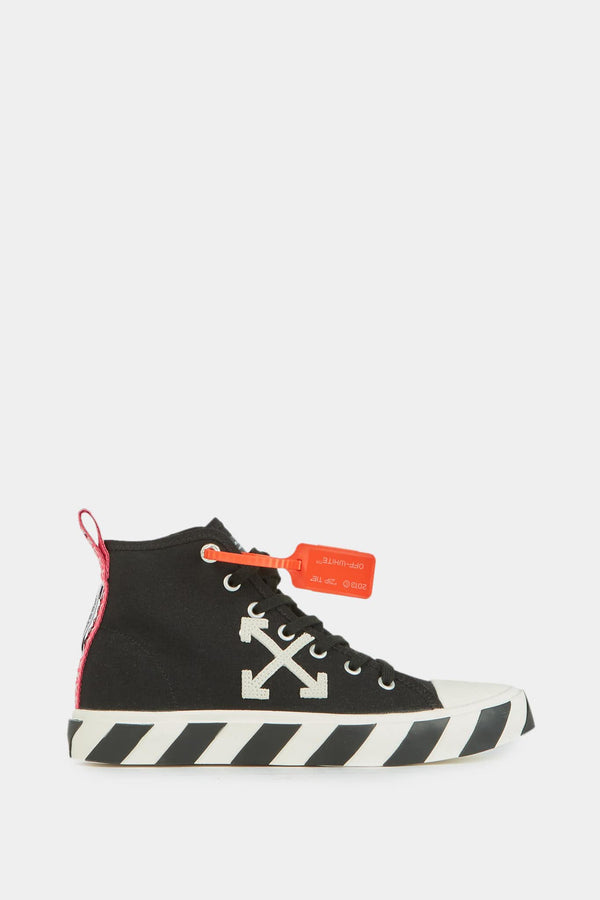 "Off-White Baskets montantes noires ""Arrows"""