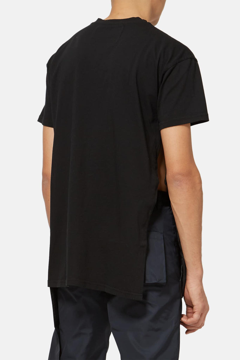 T-shirt en coton noir A Cold Wall