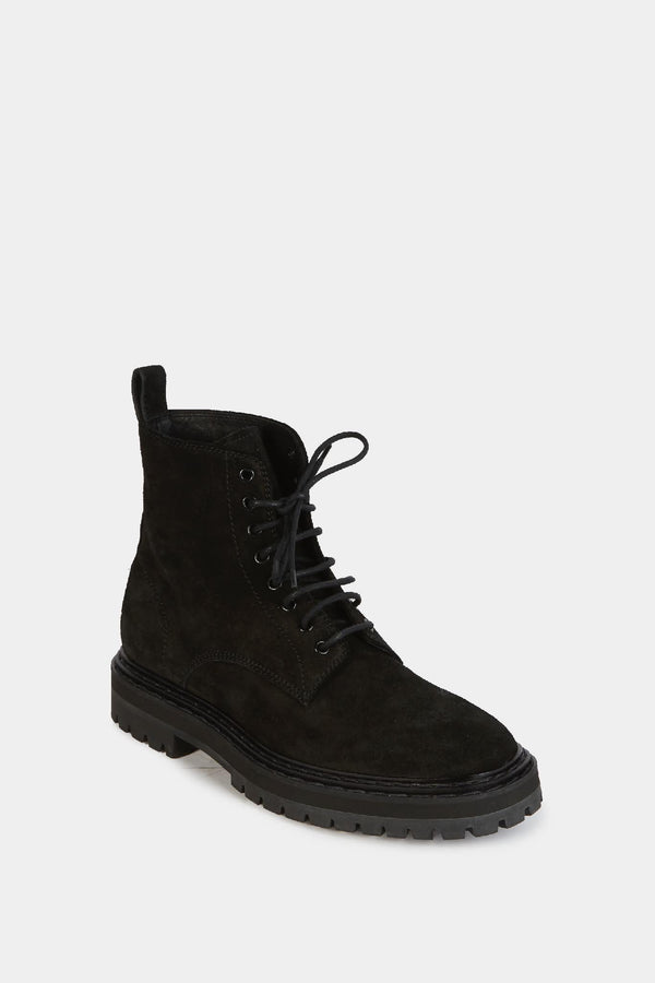 Officine Creative Bottines en daim noir  Officine Creative
