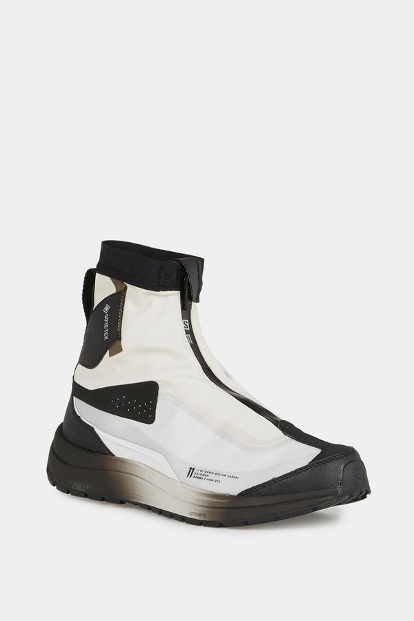 "Baskets montantes blanches et noires ""High GTX"" 11 by Boris Bidjan Saberi"