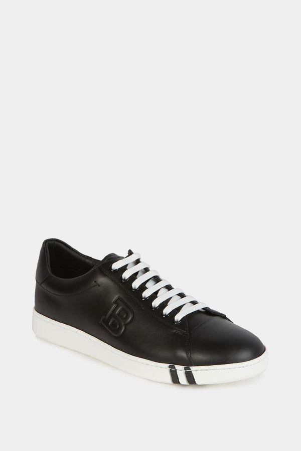 Bally Baskets basses en cuir noir  Bally