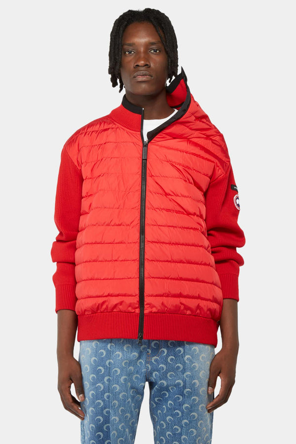 Y / Project x Canada Goose Quilted jacket in nylon and red wool