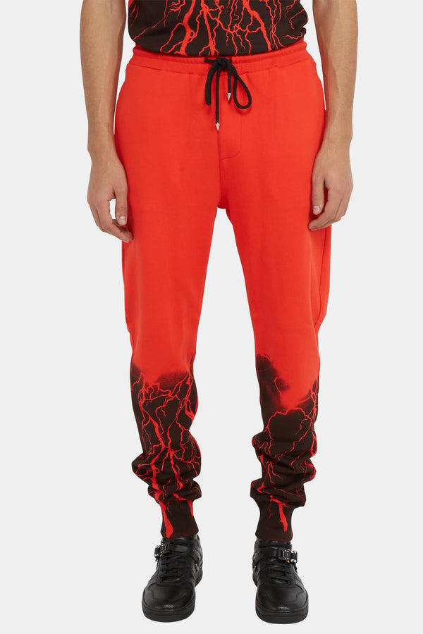 "Marc Jacques Burton Pantalon de jogging rouge ""Lava""  Marc Jacques Burton"