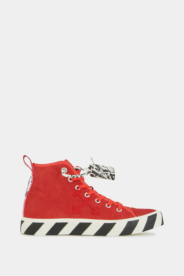 "Baskets montantes rouges ""Arrows"" Off-White"