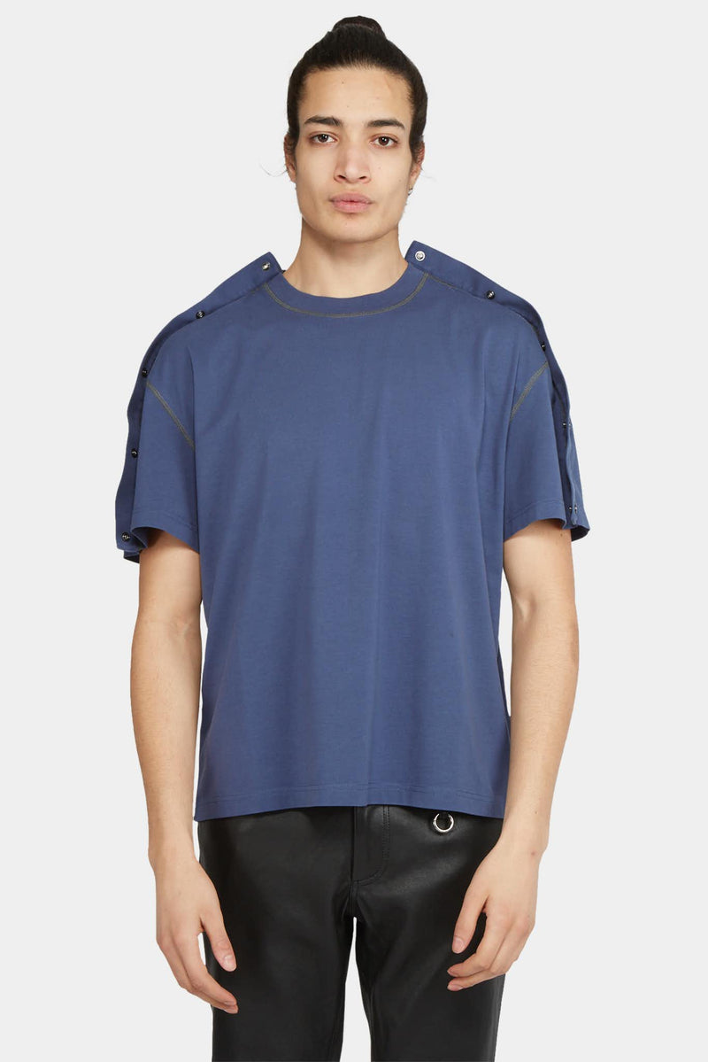 Y/Project T-shirt colour block en coton Y/Project