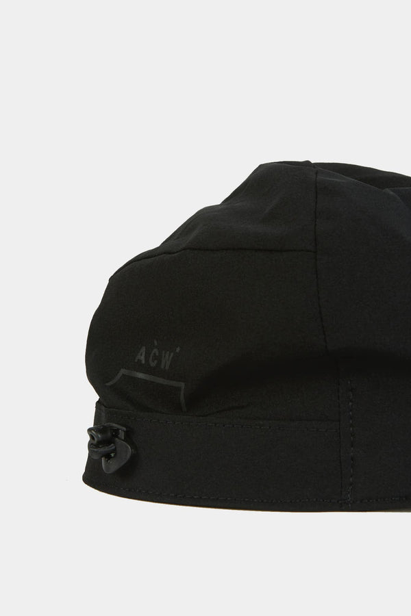 A-COLD-WALL* Casquette en nylon noir  A-COLD-WALL*