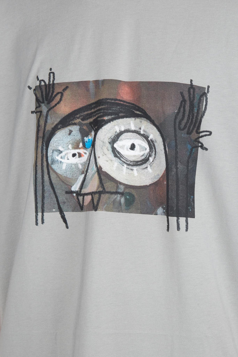 "Song for the Mute T-shirt à imprimé en coton ""Monster"" Song for the Mute"