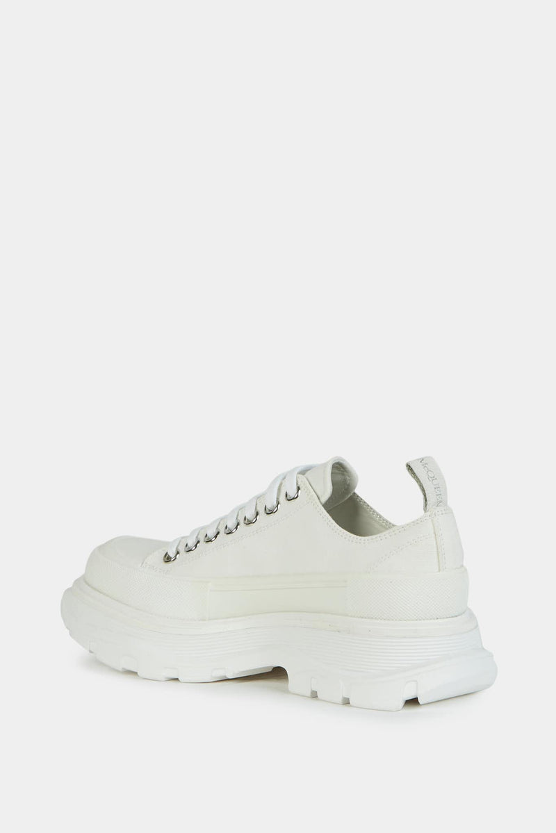"Alexander McQueen Baskets basses blanches ""Tread Slick"""
