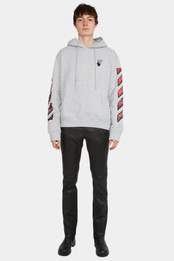 Off-White Hoodie à imprimés en coton Off-White