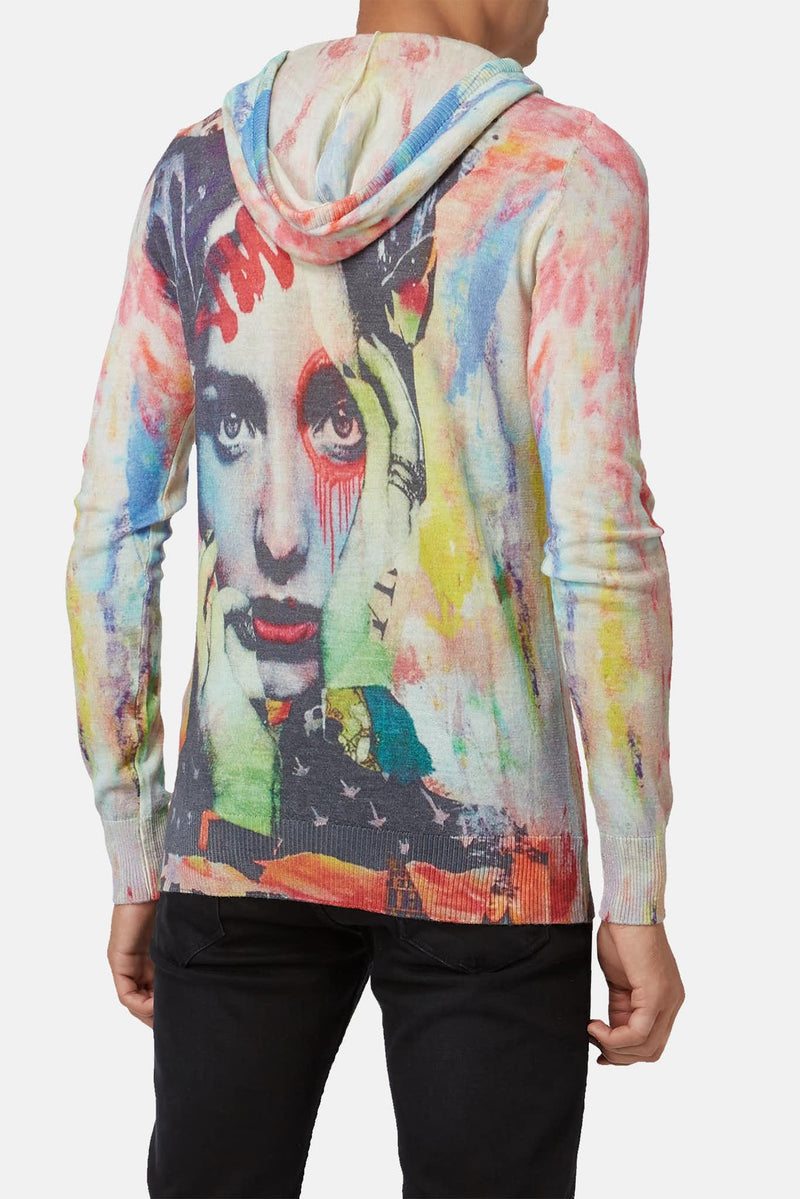Pull imprimé multicolore Printed Artworks