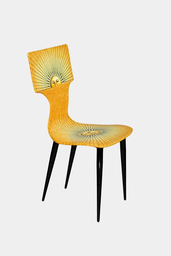Fornasetti Chaise Sole - jaune