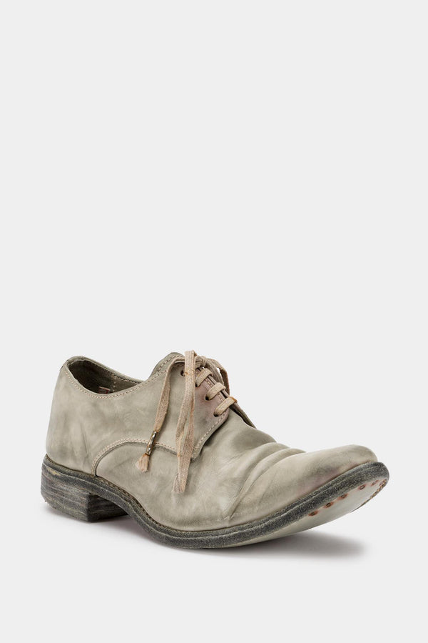 Carol Christian Poell Gray leather derbies