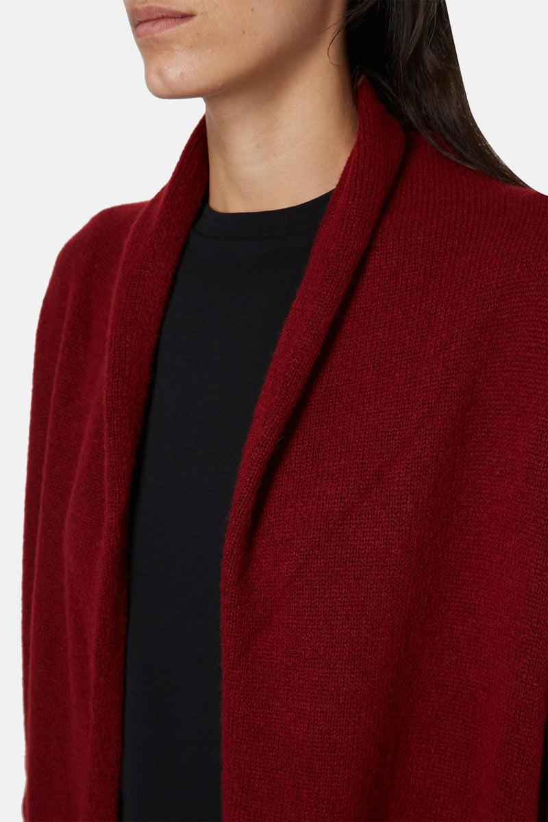 Cardigan bordeaux Elado The Row