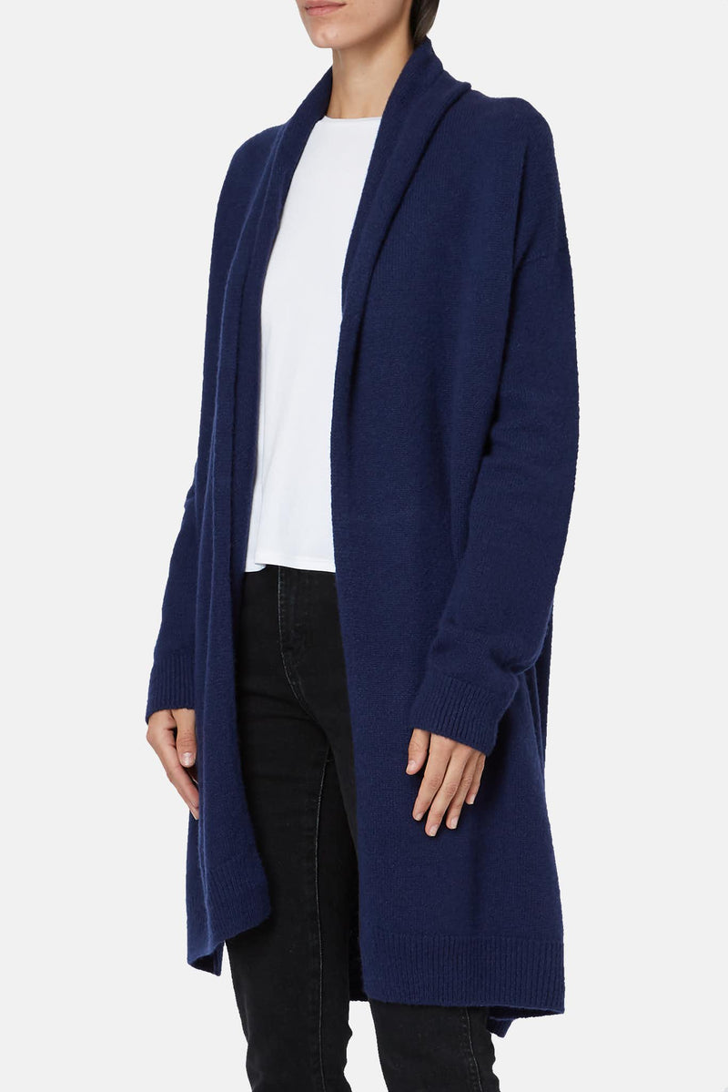 Cardigan bleu marine Elado The Row