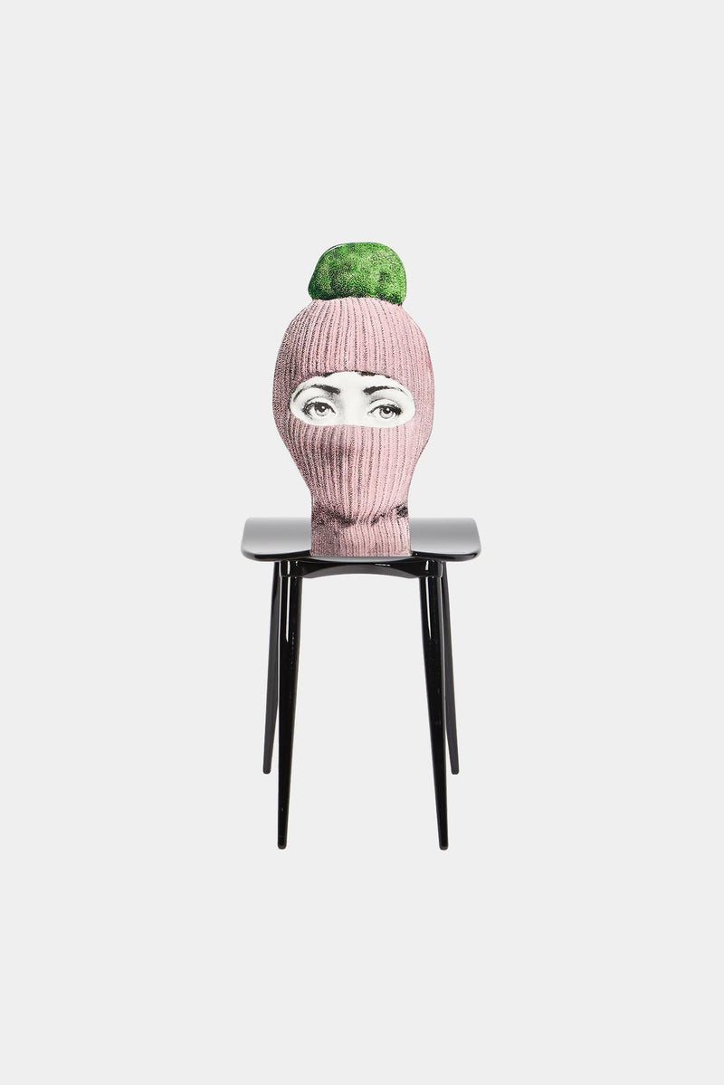 Chaise Lux Gstaad - rose/vert Fornasetti