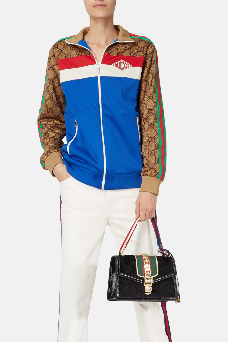 Sweat à imprimé GG multicolore Gucci