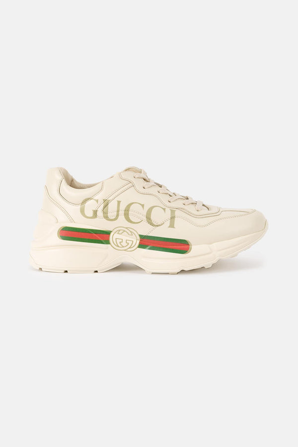 Baskets beiges Rython Gucci