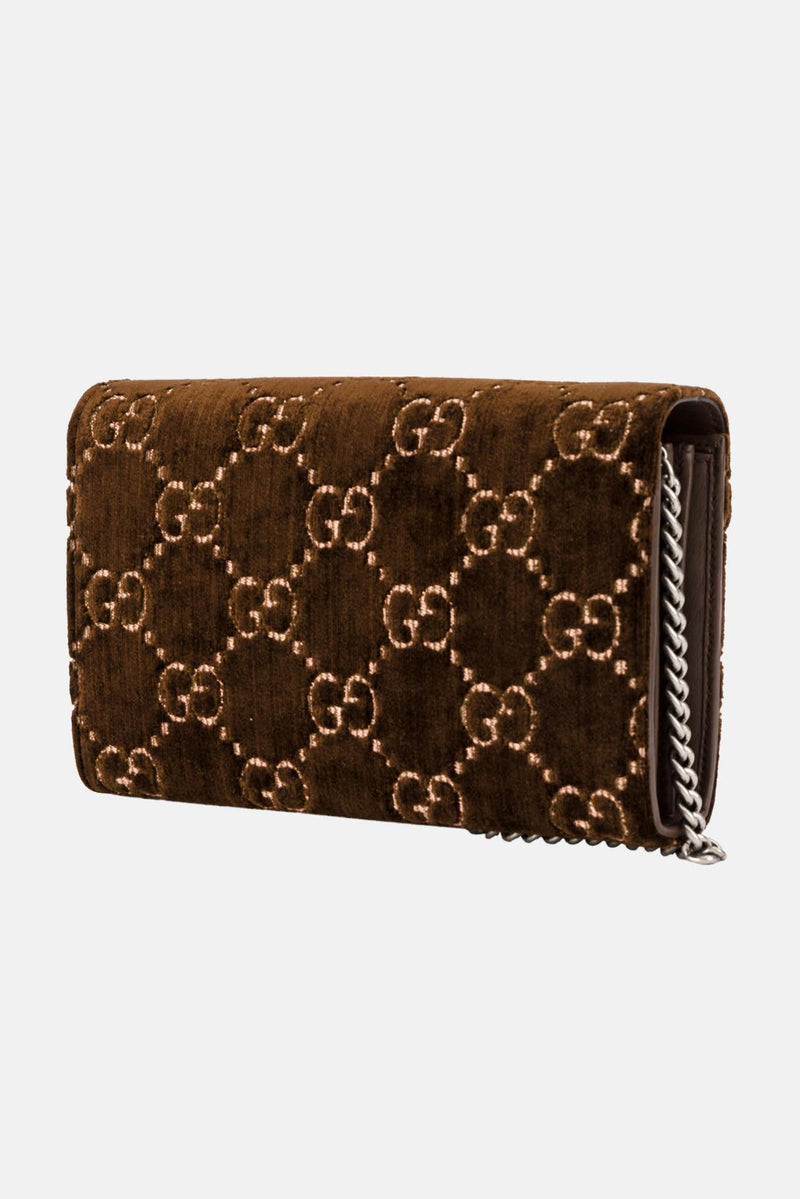 Super mini sac en velours Dionysus Gucci