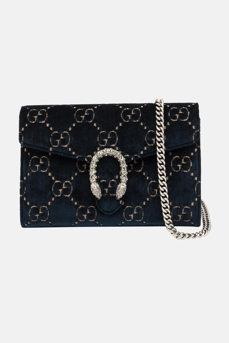 Mini sac en velours Dionysus Gucci